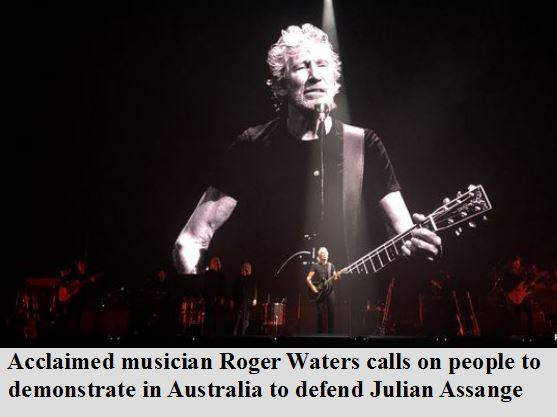 Waters supports Assange