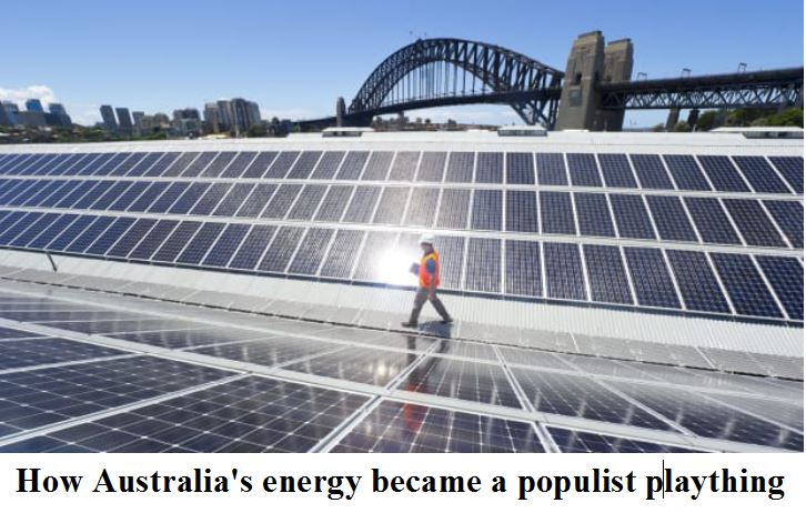 energy populist plaything